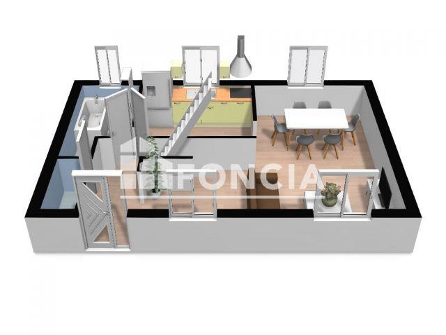 Appartement 4 pièces 80 m2 Molliens-Dreuil