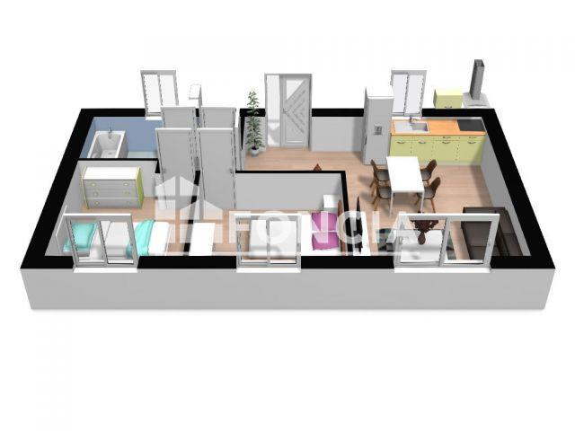 Appartement 3 pièces 46 m2 Molliens-Dreuil