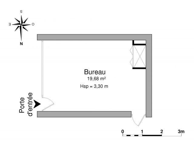 location locaux commerciaux 1 pi ce 19 68m 369 90 montauban 82000 foncia. Black Bedroom Furniture Sets. Home Design Ideas
