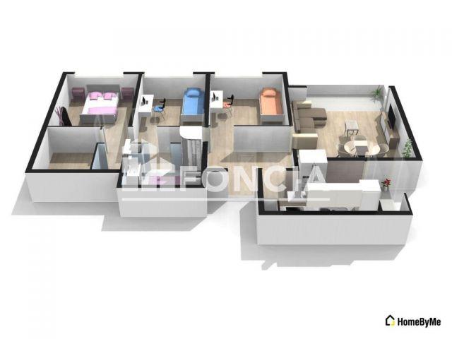 Vente Appartement Bourg-en-Bresse (01000) De Particulier. - Pap