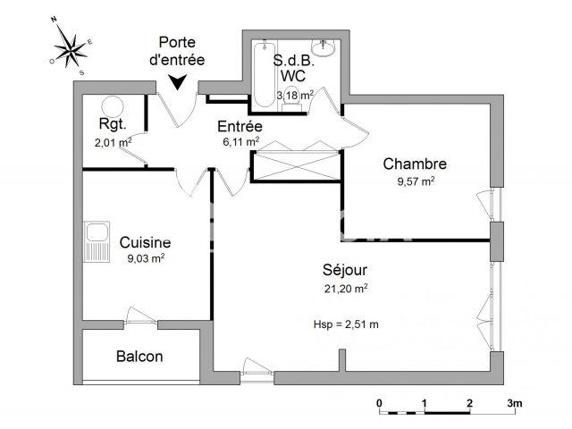 Location appartement Saint-Nicolas-de-Port (54210) : annonces