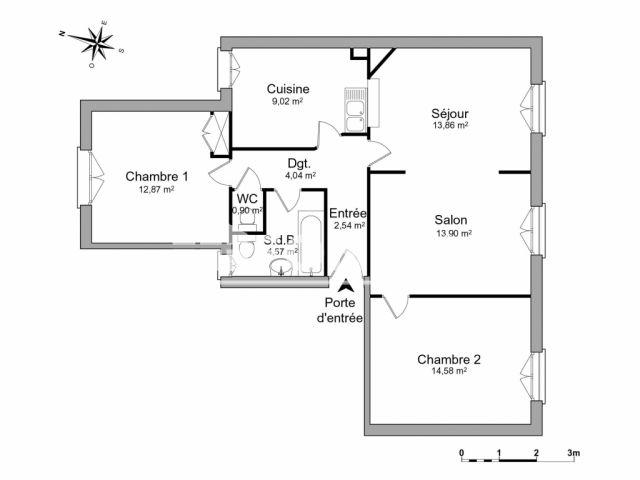 Louer appartement rennes