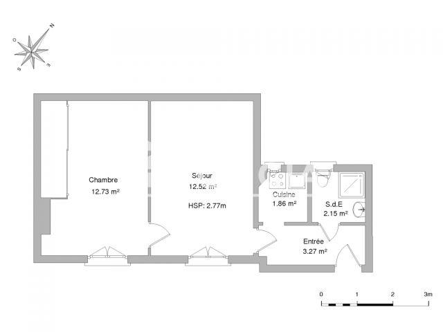 Appartement meubl 2 pi ces louer paris 75015 foncia for Meuble a louer paris