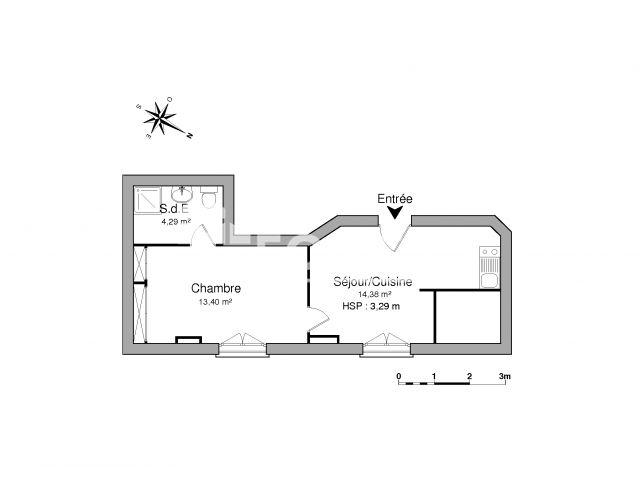 Appartement meubl 2 pi ces louer lyon 69001 foncia for Assurance location meuble