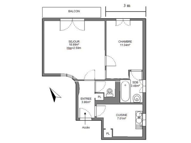 Appartement 2 pi ces louer maisons alfort 94700 foncia for Appartement maison alfort location