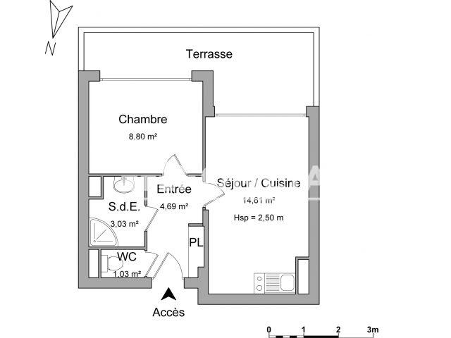 appartement meubl 2 pi ces louer cagnes sur mer 06800 foncia. Black Bedroom Furniture Sets. Home Design Ideas