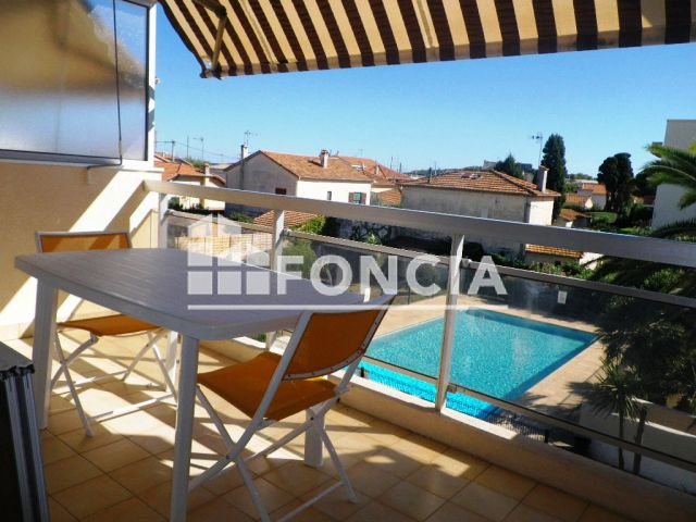 Appartement meubl 1 pi ce louer antibes 06600 foncia for Location studio meuble antibes