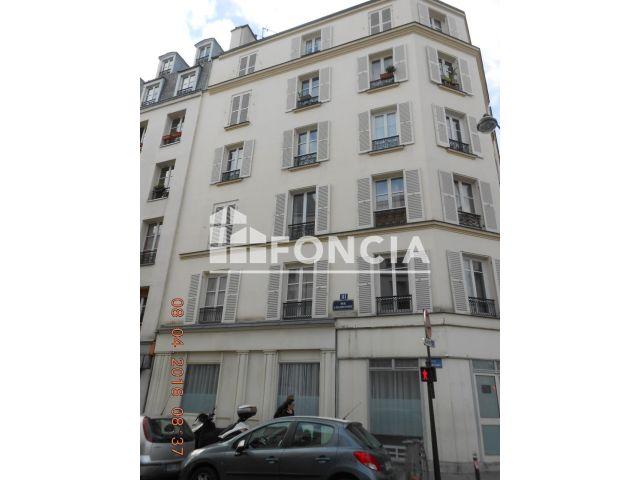 Appartement meubl 2 pi ces louer paris 75018 foncia for Meuble a louer paris