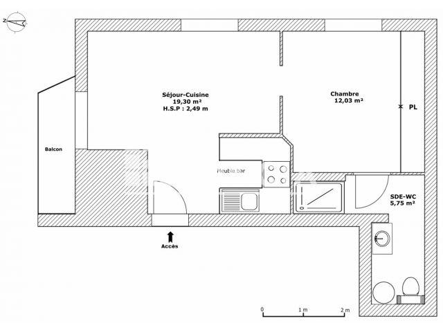 Appartement meubl 2 pi ces louer bordeaux 33200 - Location meuble au mois bordeaux ...