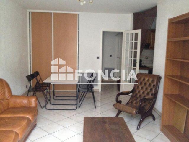 Appartement meubl 2 pi ces louer lyon 69006 foncia for Appartement meuble a louer lyon