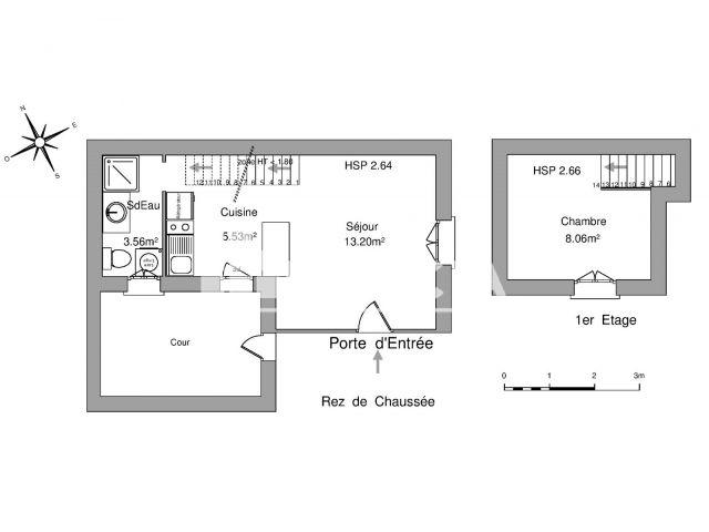 Appartement meubl 2 pi ces louer tours 37000 foncia for Location meuble tours
