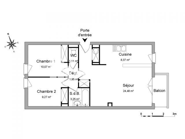 Location appartement Conflans Ste Honorine particulier - LocService