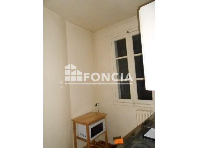 appartement meubl 1 pi ce louer paris 75018 foncia. Black Bedroom Furniture Sets. Home Design Ideas