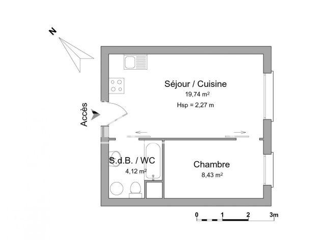 Appartement meubl 2 pi ces louer strasbourg 67200 - Appartement meuble a louer strasbourg ...