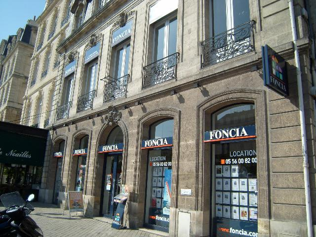 Agence immobili re bordeaux foncia transaction location for Agence immobiliere bordeaux centre location