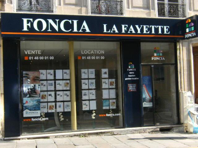 Agences immobili res foncia for Agence immobiliere paris