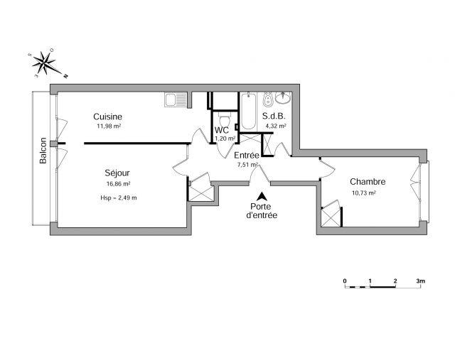 appartement à louer sur saint-chamond