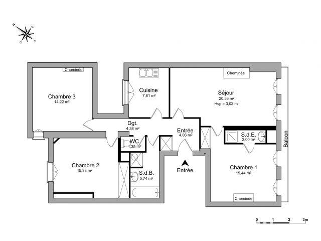 Location Appartement Bordeaux 33 Foncia