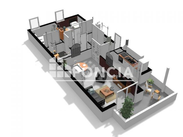 Appartement à vendre, Muret (31600)