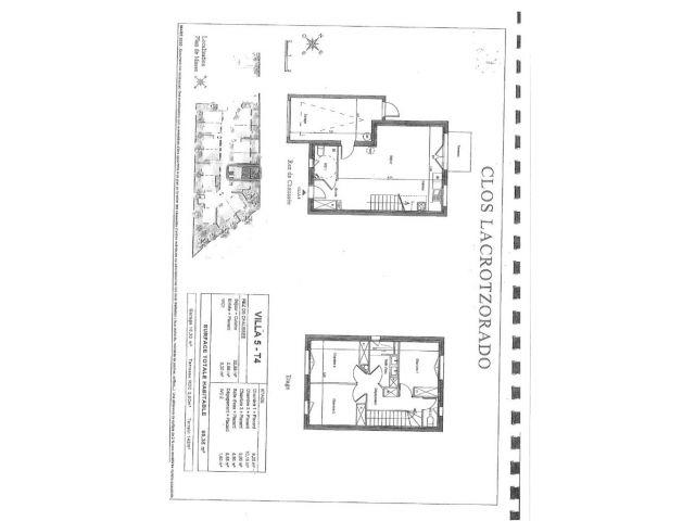 Maison 4 pièces à vendre