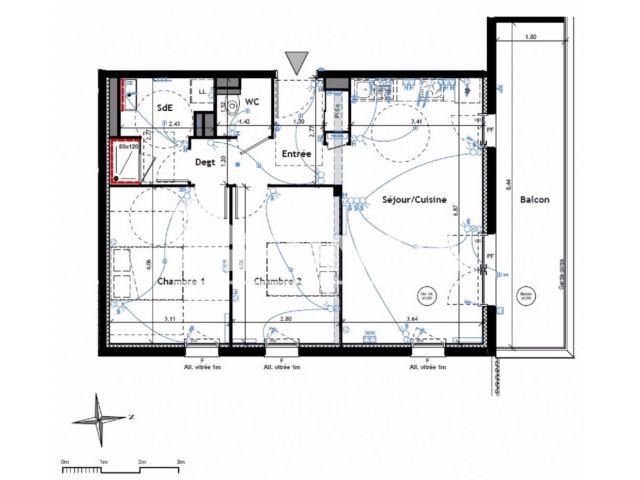 Appartement à vendre, Lagord (17140)