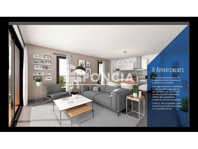 Appartement à vendre sur Saint Palais Sur Mer