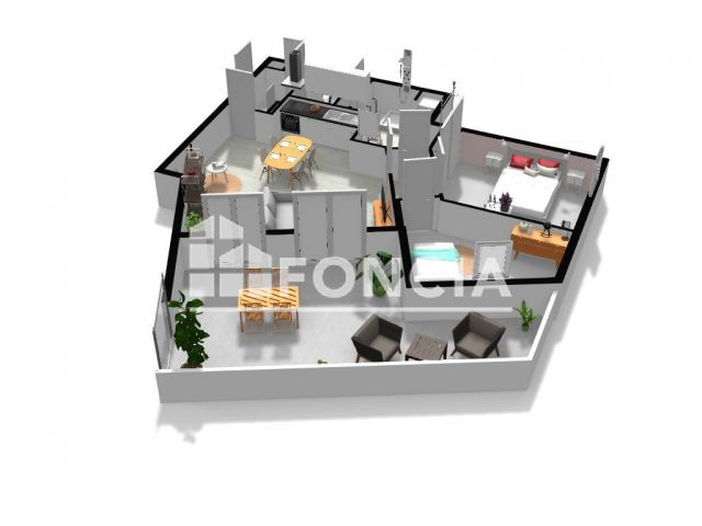 Appartement à vendre, Marseille (13013)