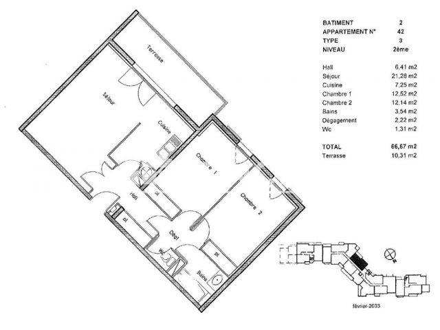 Appartement à vendre sur Cugnaux