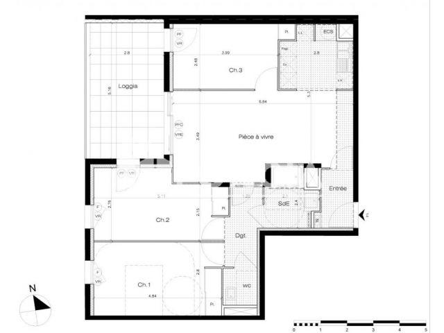 Appartement à vendre, Lattes (34970)