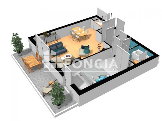 Appartement à vendre, Grasse (06130)