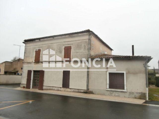 Maison à vendre sur Salignac Sur Charente