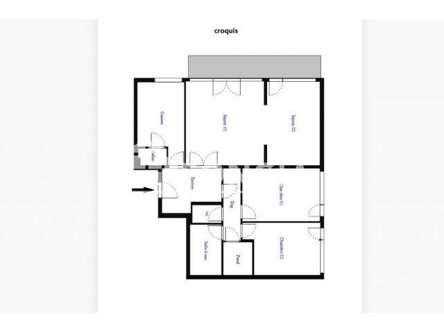 Appartement à vendre sur Velizy Villacoublay