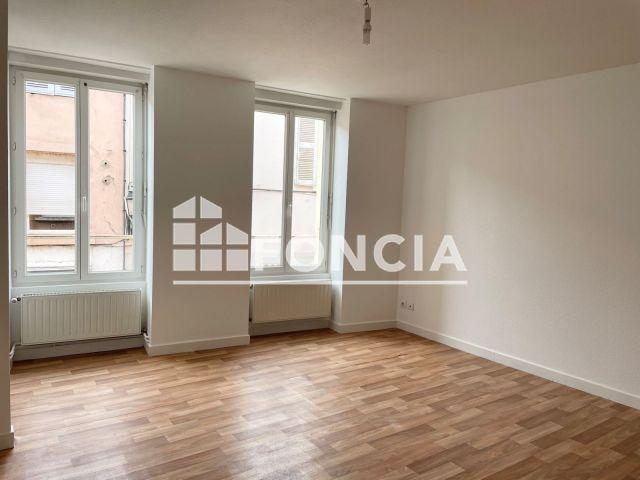 Appartement à louer sur Roanne