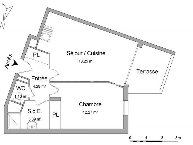 Appartement à louer, Marseille (13003)