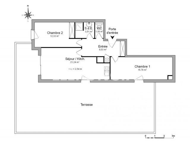Appartement à louer, Ales (30100)
