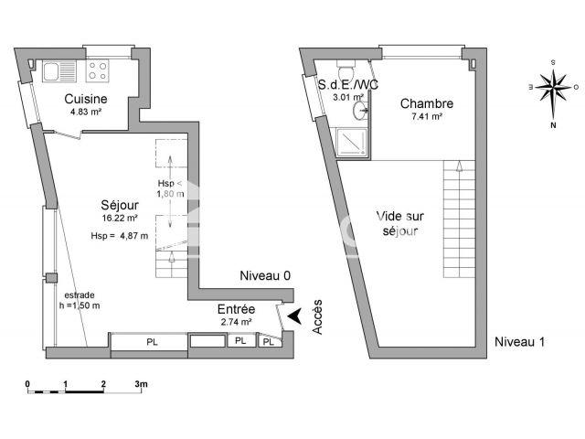 Appartement à louer, Paris (75015)