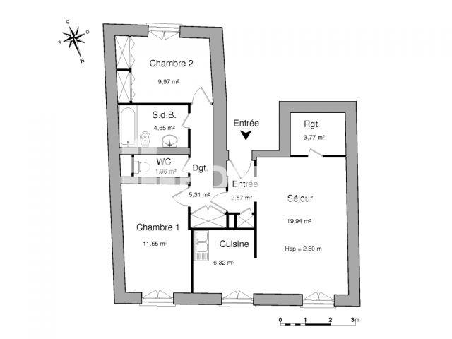 Appartement à louer, Montauban (82000)