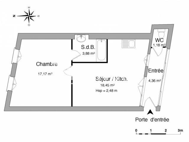 Appartement à louer, Evian Les Bains (74500)