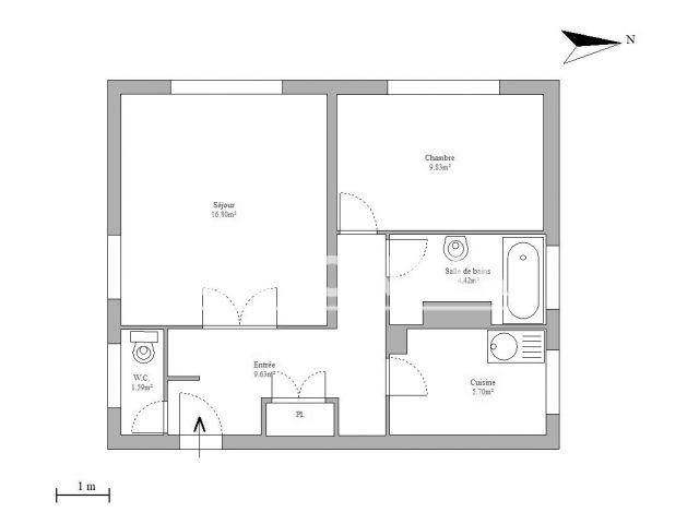 Appartement à louer, Villejuif (94800)
