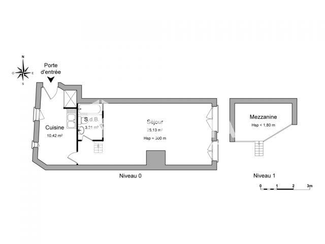 Appartement à louer, Lyon (69005)