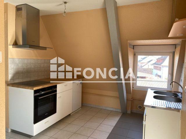 Appartement à louer sur Marckolsheim