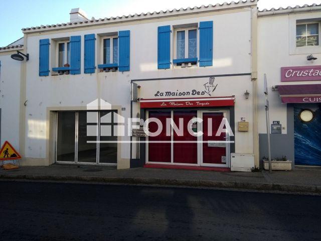 Local commercial à louer sur Noirmoutier En L'ile