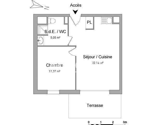 Appartement à louer, Marseille (13013)