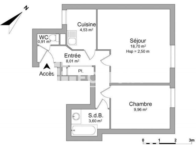 Appartement à louer, Paris (75012)