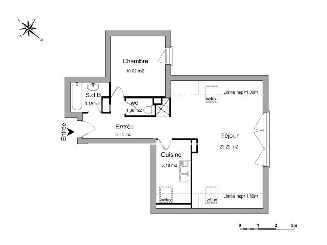 Appartement à louer, St Jean Le Blanc (45650)