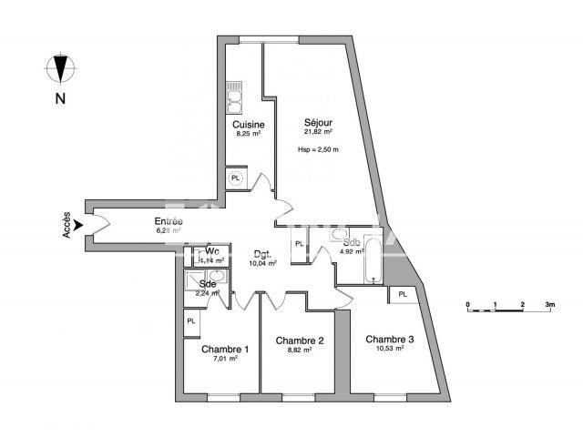 Appartement à louer, Evreux (27000)
