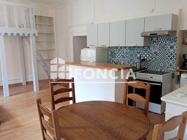 Appartement meublé à louer sur Moutiers