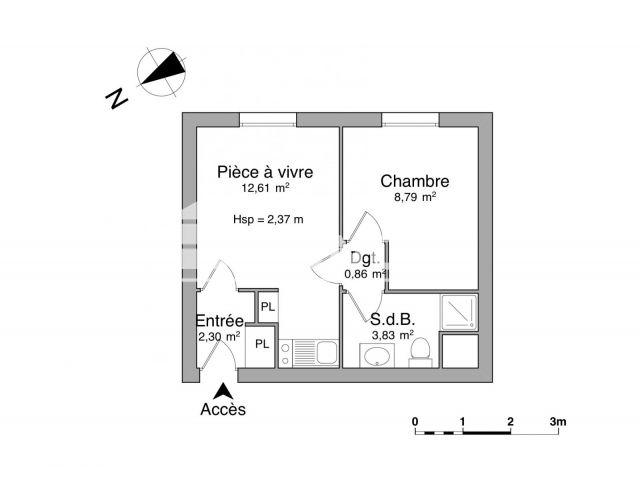 Appartement à louer, Arras (62000)
