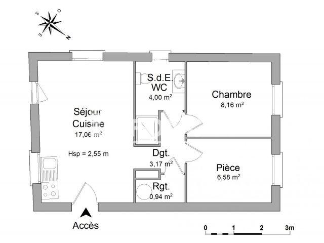 Appartement à louer, Saint Gingolph (74500)