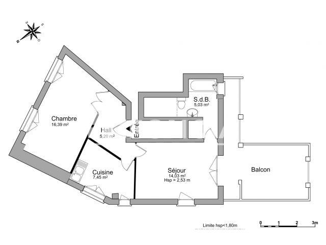 Appartement à louer, Noisy Le Grand (93160)